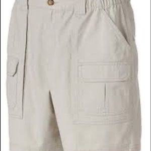 Croft & Barrow Big & Tall 48 Khaki Cargo Shorts
